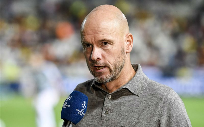'Erik ten Hag dreigt Ajax per direct te verlaten'