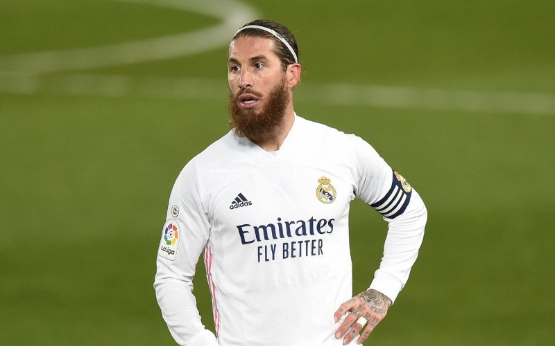 Real Madrid in shock na vertrek van Sergio Ramos'